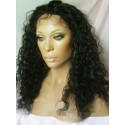 Indian remy - front lace wigs - curly - op voorraad