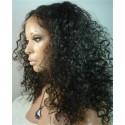 Indian remy - full lace wigs - deep curl - op voorraad