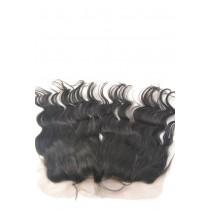12 t/m 18 inch Indian remy  - lace frontals - wavy - haarkleur 1B - direct leverbaar