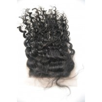 12 t/m 18 inch Indian remy  - top/lace closures - curly- haarkleur 1B - direct leverbaar