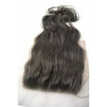 12 t/m 18 inch Indian remy  - top/lace closures - wavy - haarkleur 2 - direct leverbaar