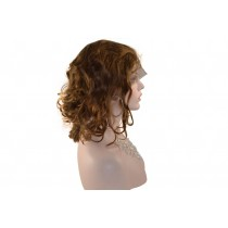 Indische remy - front lace perücken - body curl - an lager