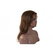 14 bis 24 inch Indische remy - front lace perücken - straight - haarfarbe 3 - sofort erhältlich