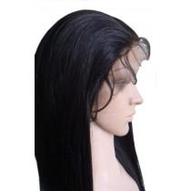 Yaki straight - synthetische front lace wigs - maatwerk