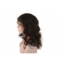 Indische remy - full lace perücken - body curl - an lager