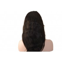 Indian remy - front lace wigs - natural wave - op voorraad