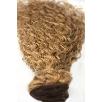 16 & 24 inch - Brazilian hair - curly - hair color 27 - available immediatly