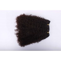 Afro kinky (kinky curl) - machinale weaves - maatwerk