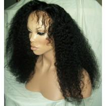 Afro kinky (kinky curl) - synthetische front lace perücken - maßanfertigung