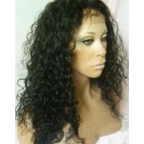 Curly - synthetische front lace wigs - maatwerk