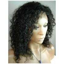 Indische remy - full lace perücken - curly - an lager