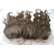 12 t/m 18 inch Indian remy  - lace frontals - wavy - haarkleur 3 - direct leverbaar