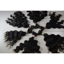 10 t/m 24 inch - Peruaans haar - wavy - natuurlijke kleur - direct leverbaar