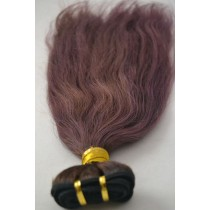 10 t/m 24 inch - Peruaans haar - straight - haarkleur zacht paars - exclusief - op voorraad