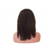 Indian remy - front lace wigs - jerry curl - op voorraad