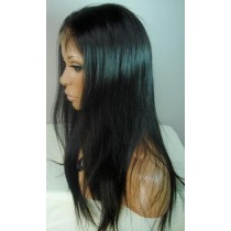 Indische remy - full lace perücken - light yaki- an lager