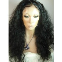Indische remy - full lace perücken - loose curl - an lager