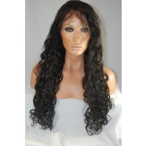 Indische remy - front lace perücken - loose wave - an lager