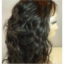 Loose wave - synthetische front lace wigs - maatwerk