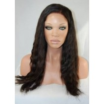 Natural wave - synthetische front lace wigs - maatwerk