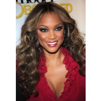 Tyra Banks full lace