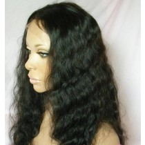 Super wave - front lace wigs - custom made