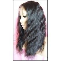Super wave - synthetische front lace wigs - maatwerk