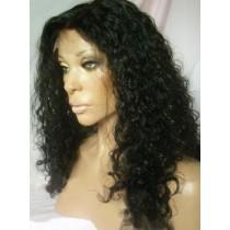Water wave - synthetische front lace wigs - maatwerk